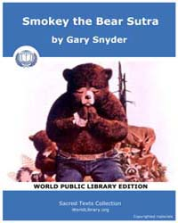 Smokey the Bear Sutra by Snyder, Gary