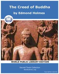 The Creed of Buddha by Holmes, Edmond