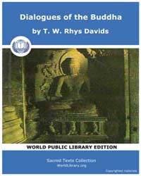 Dialogues of the Buddha, Score Bud Dob Volume Vol. II by Davids, T. W., Rhys