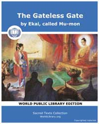 The Gateless Gate, Score Bud Glg by Ekai