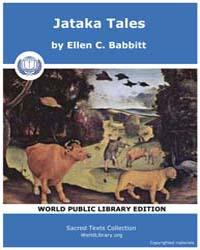 Jataka Tales by Babbitt, Ellen, C.