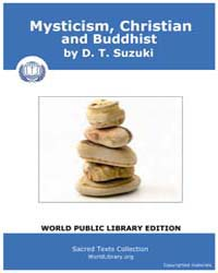 Mysticism Christian and Buddhist, Score ... by Suzuki, D. T.