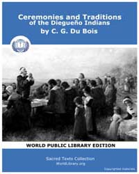 Ceremonies and Ttraditions of the Diegue... Volume XXI by Bois, C. G. Du
