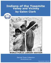 Indians of the Yosemite, Valley and Vici... by Clark, Galen
