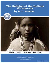 The Religion of the Indians of Californi... Volume Vol. 4 by Kroeber, A. L.