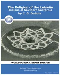 The Religion of the Luiseño Indians of S... Volume Vol. 8 by Dubois, C. G.