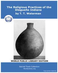 Religious Practices of the Diegueño Indi... Volume Vol. 8 by Waterman, T. T.