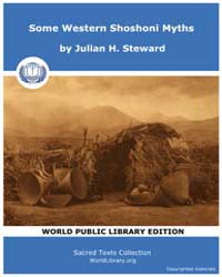 Some Western Shoshoni Myths, Score CA Ws... by Steward, Julian H.