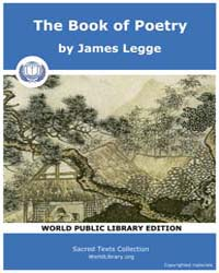 The Book of Poetry, Score Cfu Bop by Legge, James