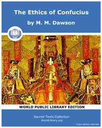 The Ethics of Confucius, Score Cfu Eoc by Dawson, M. M.