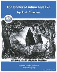 The Books of Adam and Eve by R.H. Charles