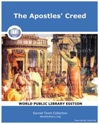 The Apostles' Creed, Score Chr Apocreed by Sacred Texts