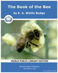 The Book of the Bee, Score Chr Bb by E. A. Wallis Budge