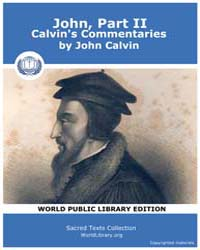 John, Part Ii, Calvin's Commentaries, Sc... by Calvin, John