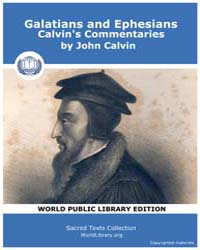 Galatians and Ephesians, Calvin's Commen... by Calvin, John