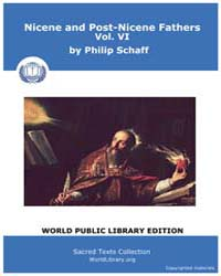 Nicene and Post-nicene Fathers, Volume V... by Schaff, Philip