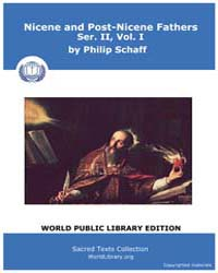 Nicene and Post-nicene Fathers, Ser. Ii,... Volume II, Number I by Schaff, Philip