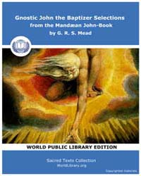 Gnostic John the Baptizer Selections fro... by Sacred Texts