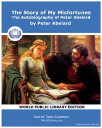 The Story of My Misfortunes, the Autobio... by Abelard, Peter