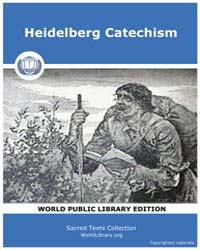 Heidelberg Catechism, Score Chr Heidcat by Sacred Texts
