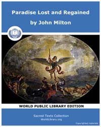 Paradise Lost and Regained by Milton, John