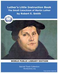 Luther's Little Instruction Book, the Sm... by E. Smith,robert