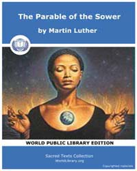 The Parable of the Sower by Martin Luther