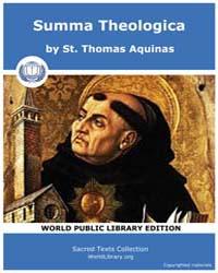 Summa Theologica, Score Chr Summa by Aquinas,st. Thomas