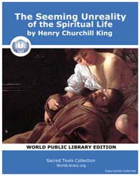 The Seeming Unreality of the Spiritual L... by Churchill King, Henry