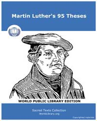 Martin Luther's 95 Theses, Score Chr the... by Holman Company