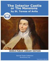 The Interior Castle or the Mansions by St. Teresa of Avila