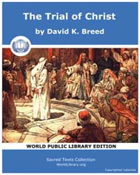 The Trial of Christ, Score Chr Toc by K. Breed, David