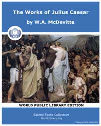 The Works of Julius Caesar, Score Jcsr by McDevitte, W. A.