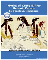 Myths of Crete & Pre-hellenic Europe, Sc... by MacKenzie, Donald A.