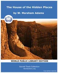 The House of the Hidden Places, Score Ea... by Marsham Adams, W .