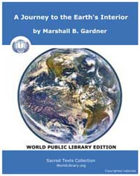 A Journey to the Earth's Interior, Score... by B. Gardner, Marshall
