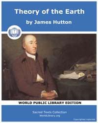 Theory of the Earth by Hutton, James