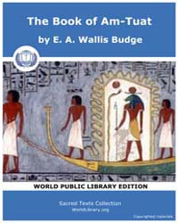 The Book of Am-tuat, Score Egy Bat Volume Vol. by Wallis Budge, E. A.