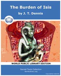 The Burden of Isis, Score Egy Boi by Dennis J. T.
