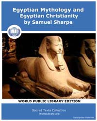 Egyptian Mythology and Egyptian Christia... by Sharpe, Samuel