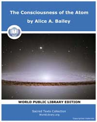 The Consciousness of the Atom, Score Eso... by Bailey, Alice A.