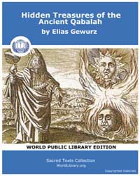 Hidden Treasures of the Ancient Qabalah,... by Gewurz, Elias