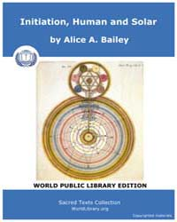 Initiation, Human and Solar, Score Eso I... by Bailey, Alice A.