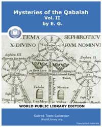 Mysteries of the Qabalah, Volume Ii, Sco... by E. G.