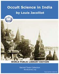 Occult Science in India, Score Eso Osi by Jacolliot, Louis
