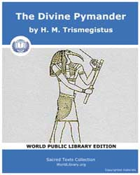 The Divine Pymander, Score Eso Pym Volume Vol. XVII by Trismegistus, H. M.