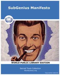 The Subgenius Manifesto by Classic Sacred Texts