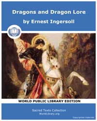 Dragons and Dragon Lore, Score Etc Ddl by Ingersoll, Ernest