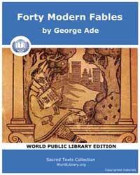 Forty Modern Fables, Score Etc Fmf by Ade, George