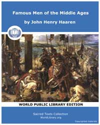 Famous Men of the Middle Ages, Score Etc... by Haaren, John Henry